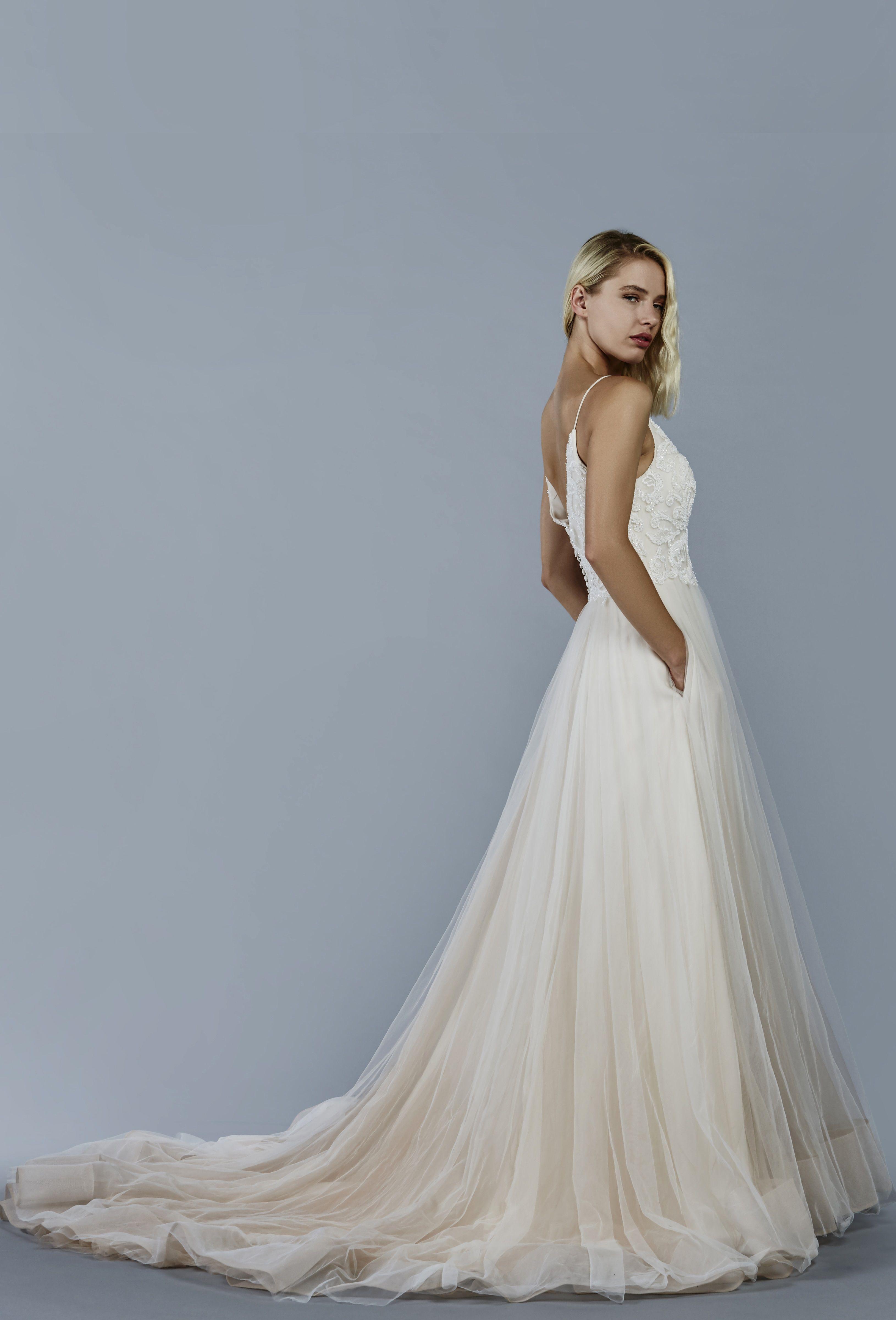 Star wedding dress by Kelly Faetanini in Blush // Pearlescent ...