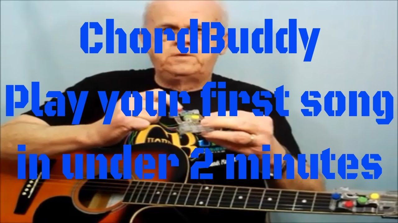 Chordbuddy Play Your First Song On Guitar Under 2 Minutes As Seen