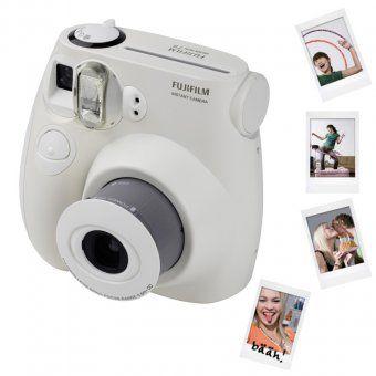 Sofortbildkamera Instax Mini 7S weiß, Hochzeit Gästebuch ...