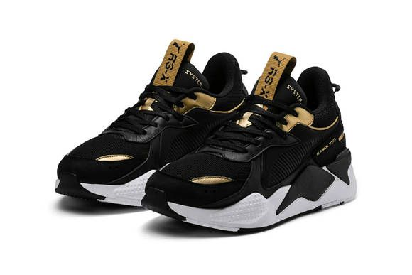 97a17821889 puma rs x trophies release date 2019 january footwear black gold white  silver grey gray bronze rose pink blush