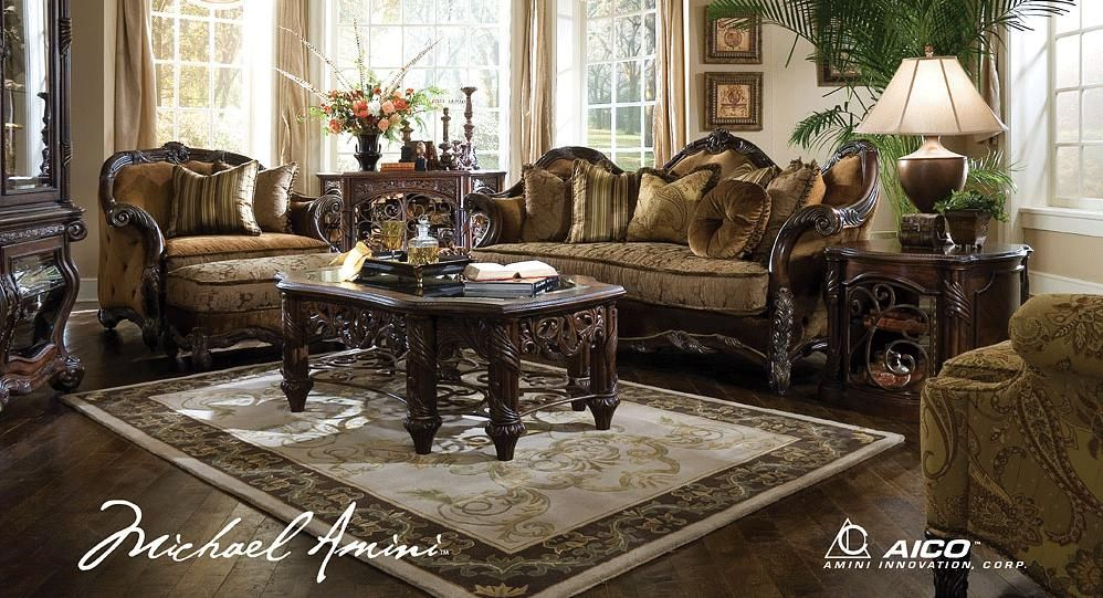 Living Room Furniture Sets Crafted Victorian Es Set Will Compliment Any