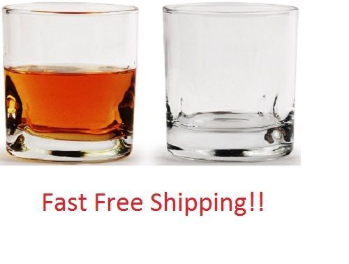 Whiskey Glass Set of 4 Limited Edition 10 Ounce Drinking Glasses Home RV Camper