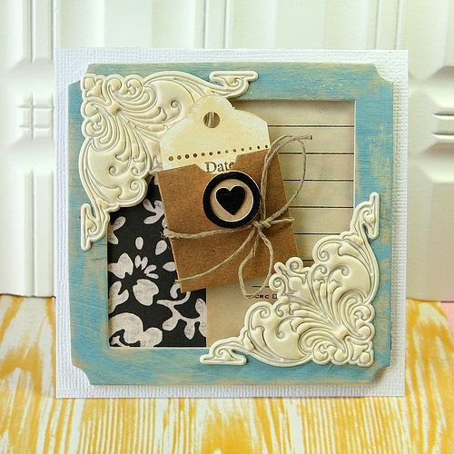 love this idea @Gail Mounier Calico wooden elements