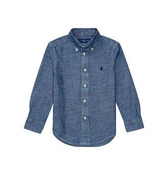 Polo Ralph Lauren® Boys' 2T-7 Long Sleeve Blake Top