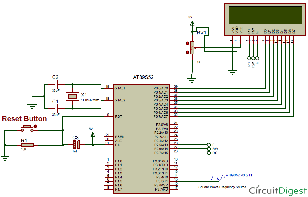 Frequency Counter Schematic Diagram Complete Wiring Diagrams