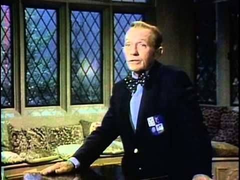 "Vintage Christmas Television ~ Bing Crosby Sings ""White Christmas"" on his final Christmas special in 1977 called ""Bing Crosby's Merrie Olde Christmas""."