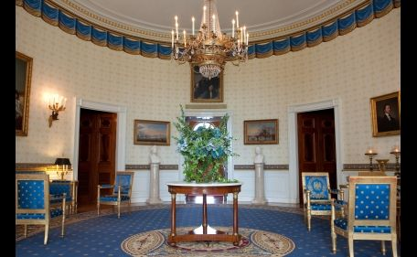Blue Room White House Tour Blue Rooms White House Rooms