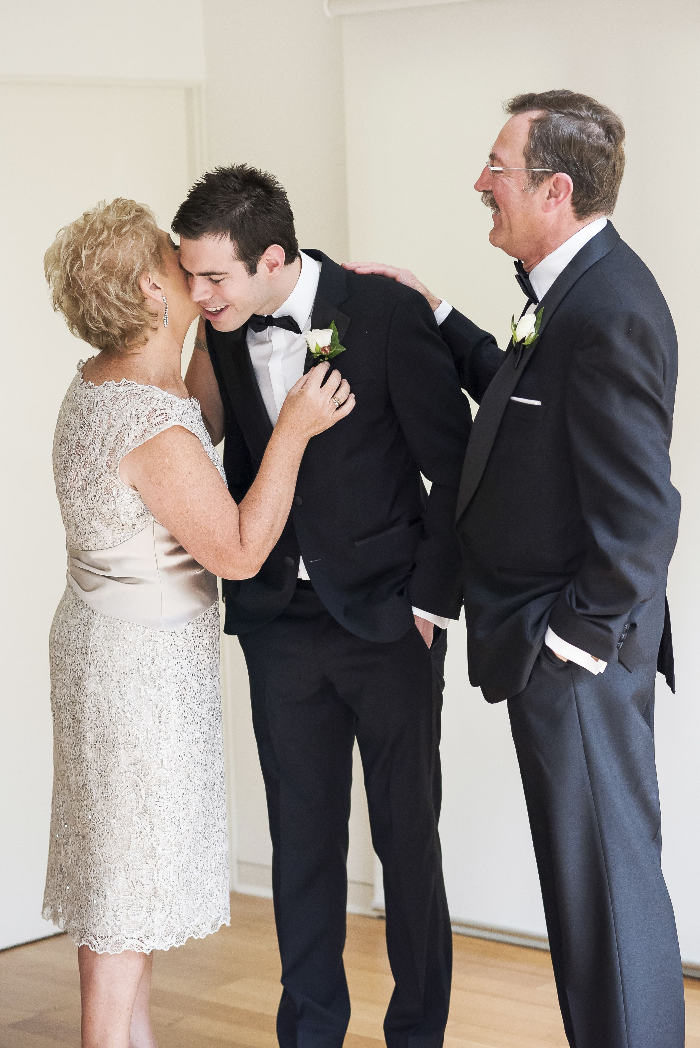 Groom and the moment with his parent. how sweet | itakeyou.co.uk