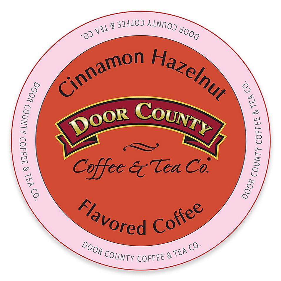 12 Count Door County Coffee Tea Co Cinnamon Hazelnut For Single Serve Coffee Makers In 2020 Single Serve Coffee Makers Coffee And Tea Makers Single Serve Coffee