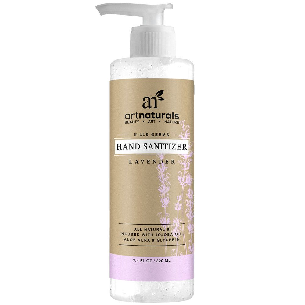 Art Naturals Lavender Scented Hand Sanitizer Natural Scents