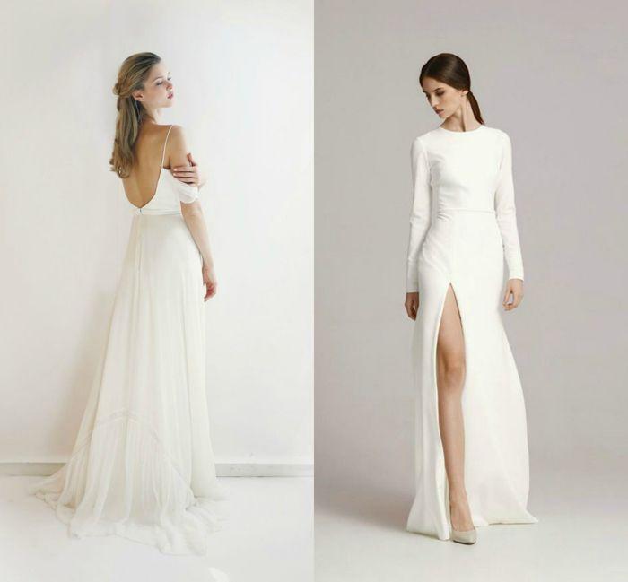 Imagenes de vestidos largos sencillos y bonitos