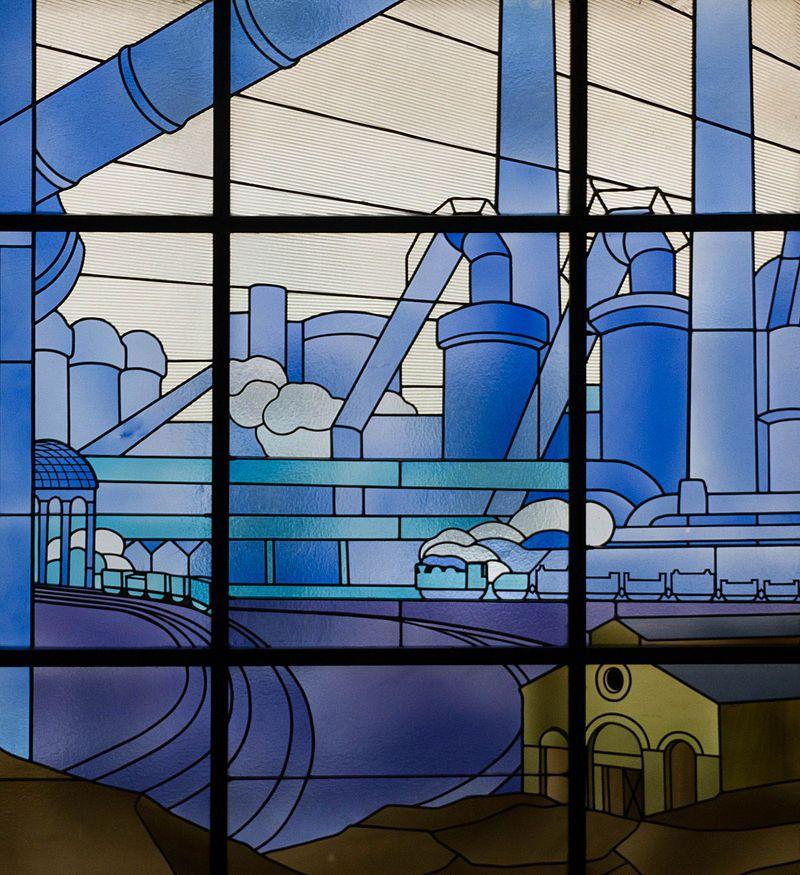 Louis Majorelle a dessiné une Unique série de Vitraux Ils ne