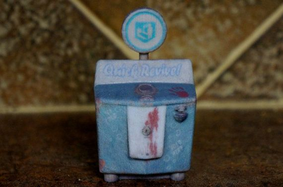 Quick Revive Perk Zombies Miniature Perk Machines Call Of Duty Black Ops 2 On Etsy 19 95 Call Of Duty Zombies Call Of Duty Black Black Ops