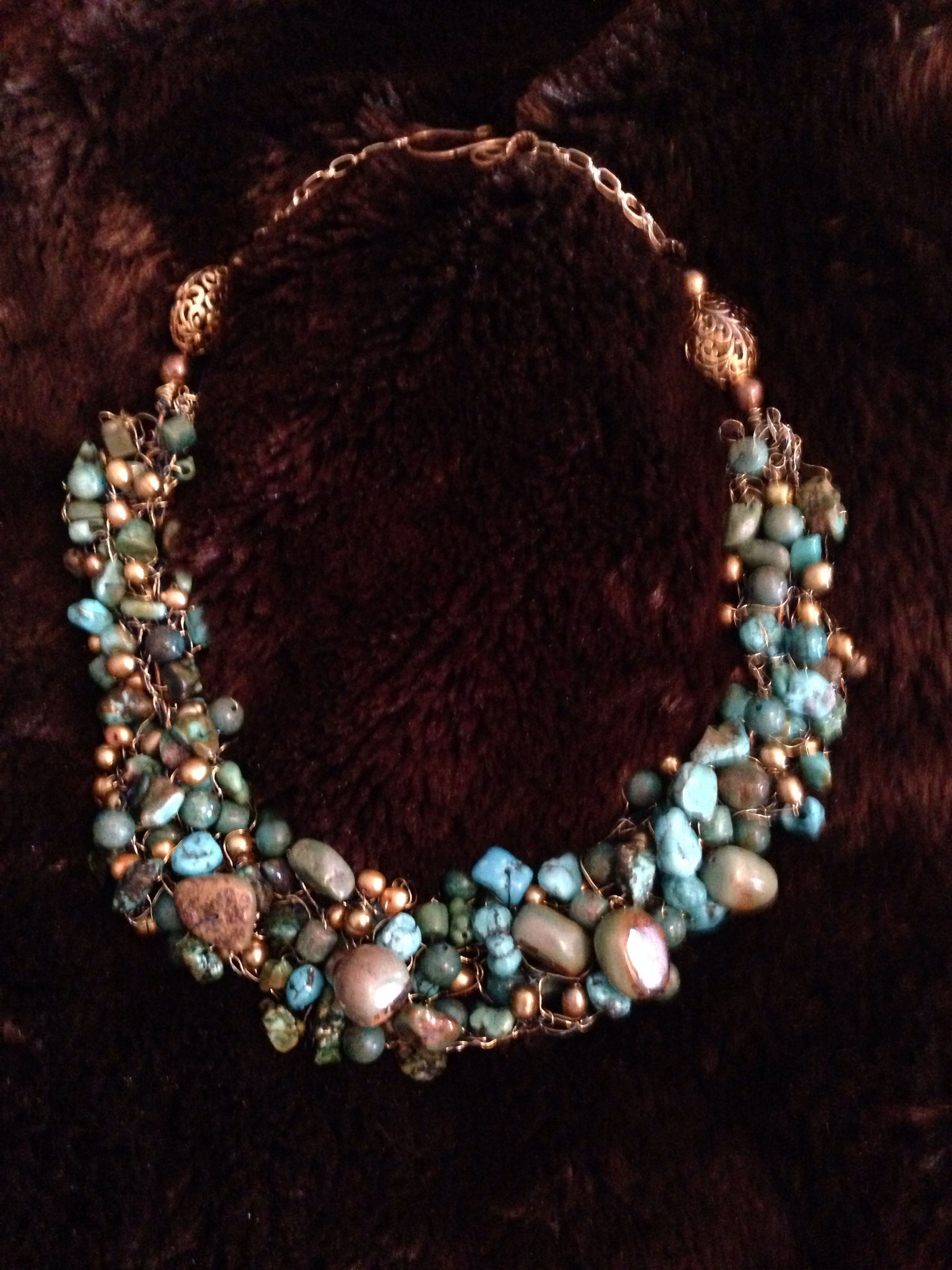 Pearls & Turquoise