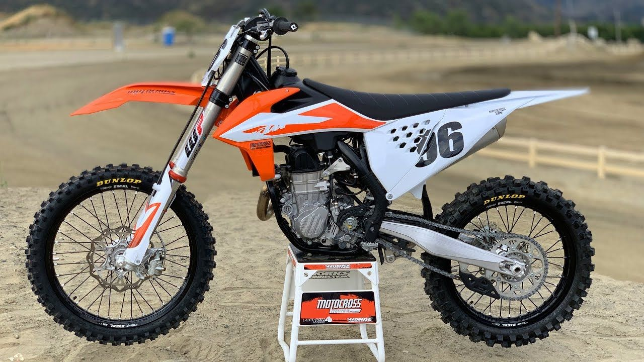 New 2020 KTM 450 SX-F Factory Edition Motorcycles in