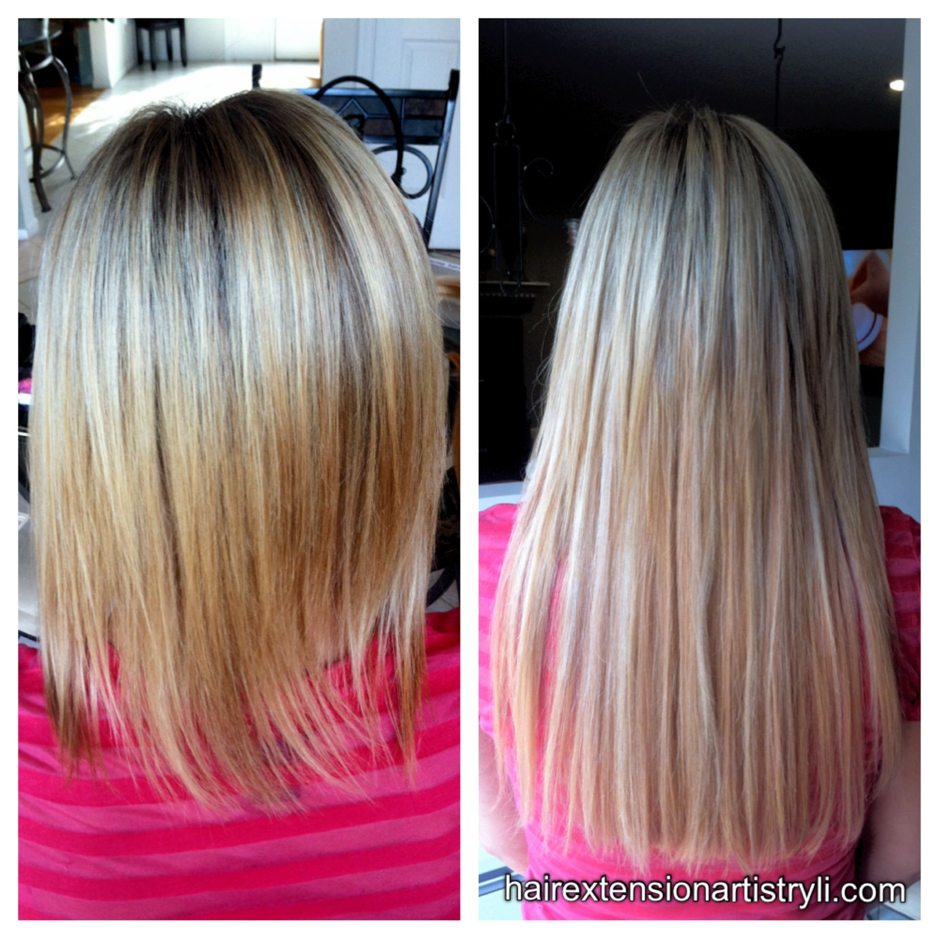 Barbie Doll Makeover With Microbead Hair Extensions Long Island