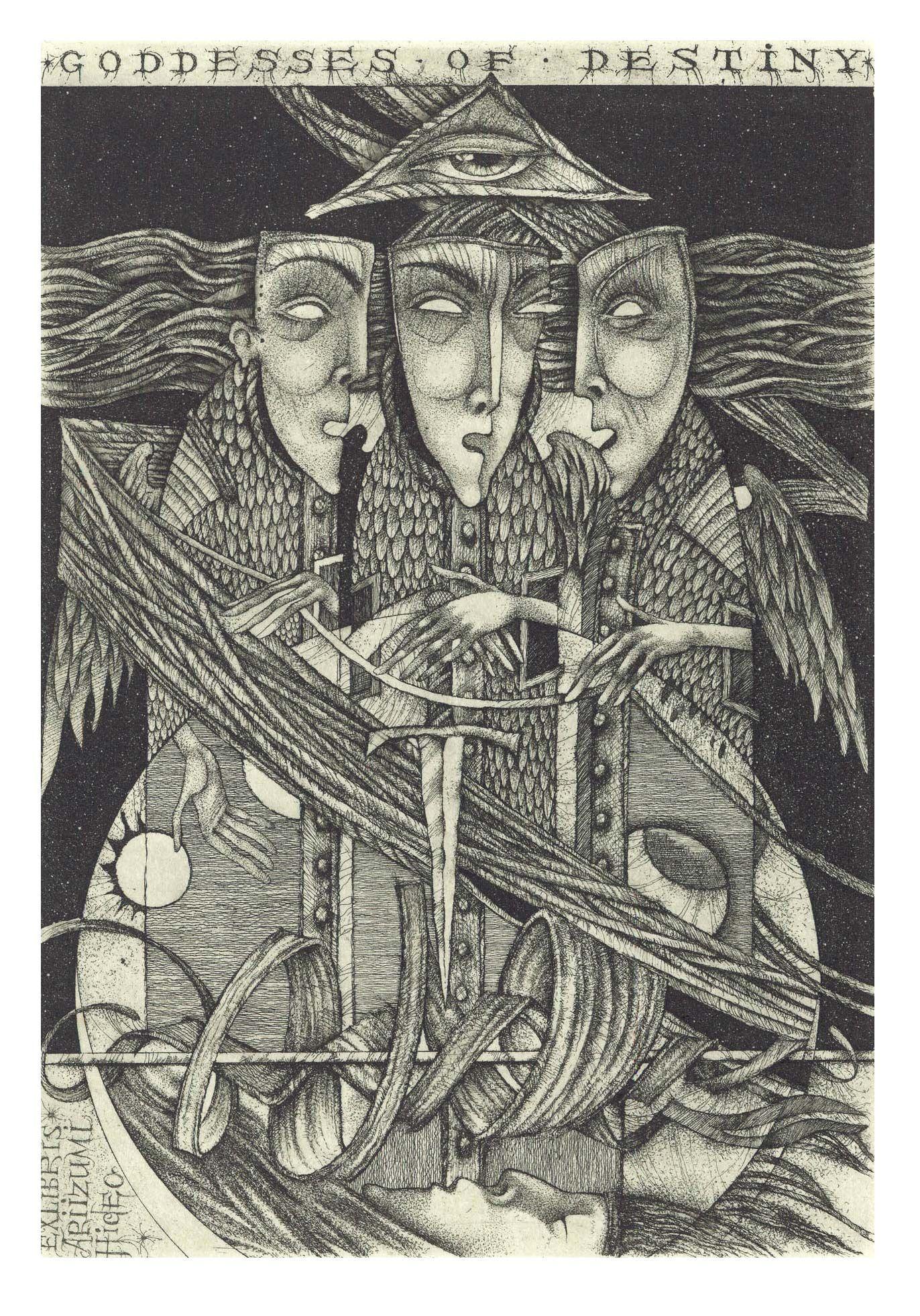 "95. Hideo Ariizumi ""Strings of a life"" C3\C5\C7 10,8 X 15,4 www.hrapov.com"