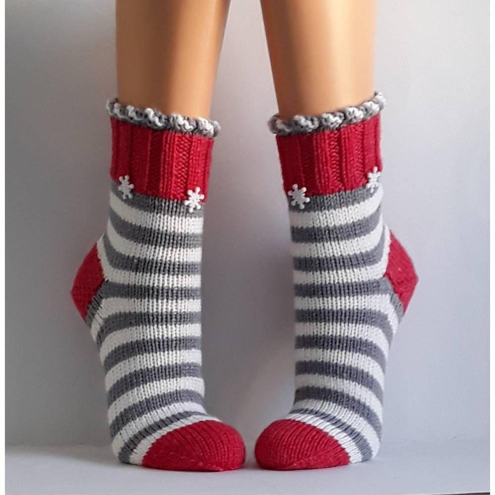 Photo of Ullsokker Håndstrikkede sokker Dame sokker Koselige sokker 38/39 – Tilbehør …