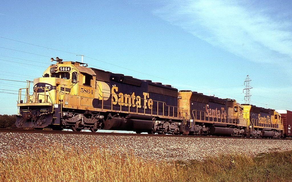 SD45 Lineage Train, Rail car, Atchison