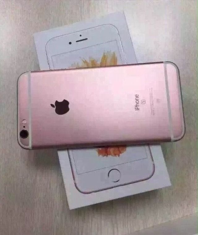 Rose Gold Colored Iphone 6s Shown Off Photos Iphone Sell