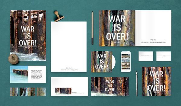 WAR_IS_OVER! and i lost on Behance  https://www.facebook.com/StudioLetsDesign