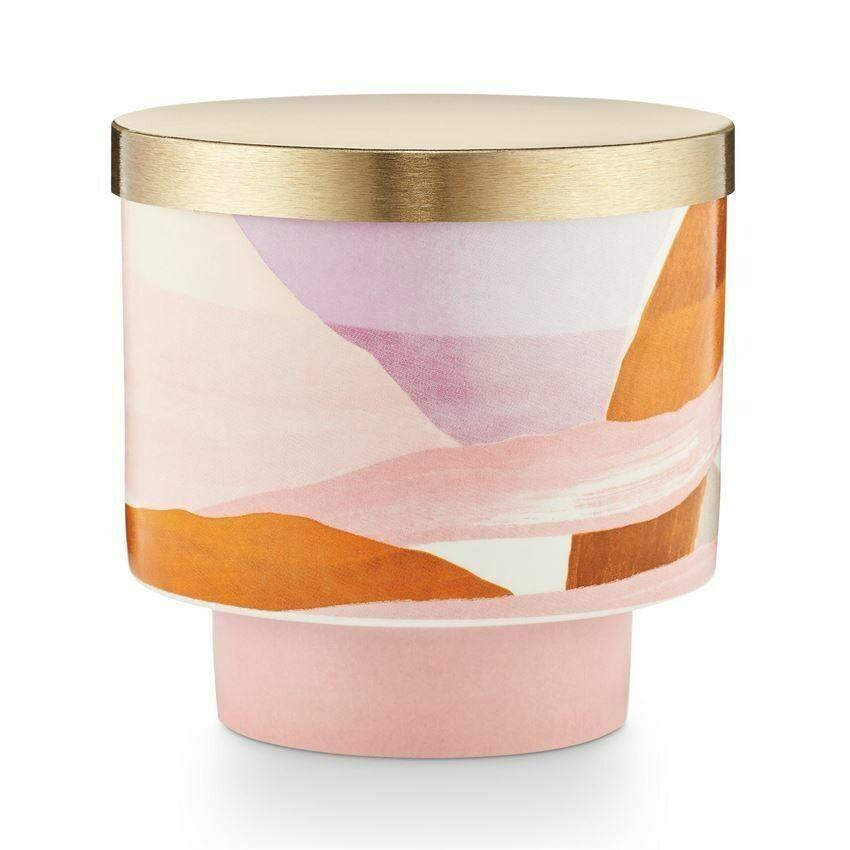 Illume Lidded Ceramic Candle - Coconut Milk Mango