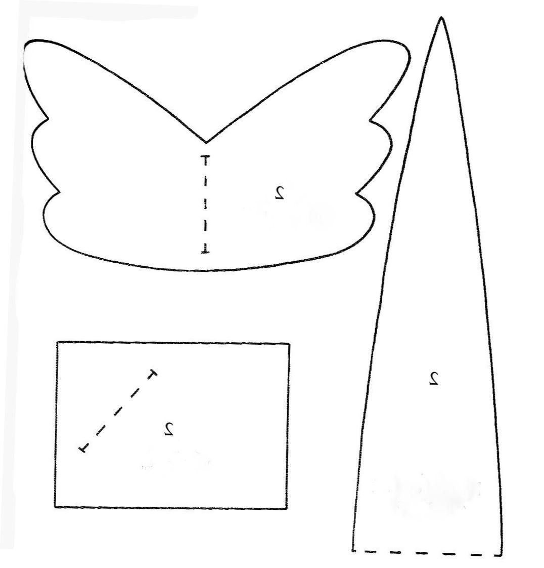 Pattern for Tilda Dolls - print