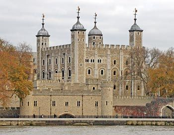 Tower of London from across the river