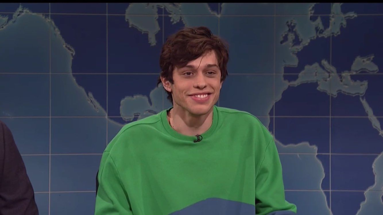 Pete Davidson Snl May 5th 2018 Pete Crying My Eyes Out