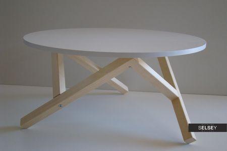 Stolik Kawowy Hexagon Srednica 80 Cm Selsey Table Tripod Table Home Decor