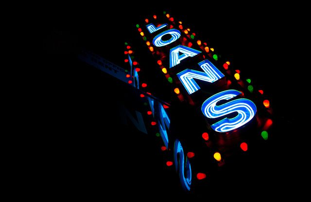 Loans Sign - 47th Street Diamond District, Manhattan NYC by ChrisGoldNY, via Flickr