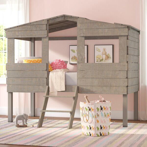 Mammie Twin Low Loft Bed Low loft beds, Kid beds, Loft