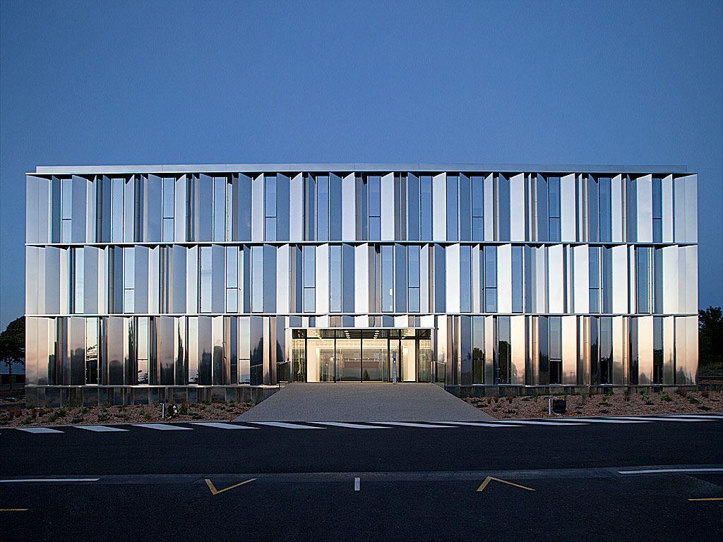Cfa immeuble de bureaux fiteco architectuur
