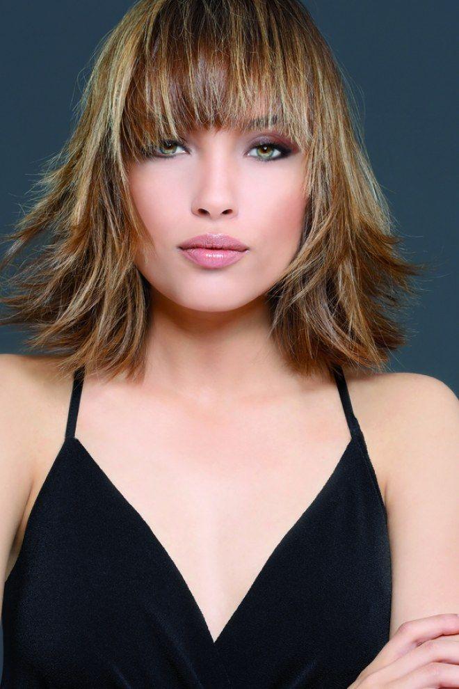 Quelle coiffure pour des cheveux mi-longs ? | Tendances coiffures, Cheveux mi long et Coiffure