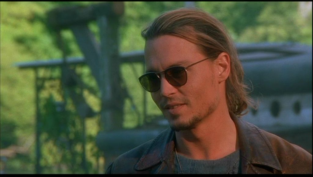 Johnny Depp in 'Chocolat'
