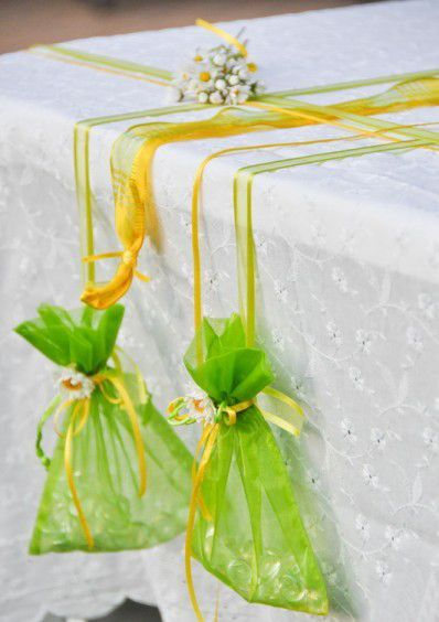 #tablecloth #weights #organza #pouches #fillers #summer #garden #stones #party #glass #easy #gift #v...