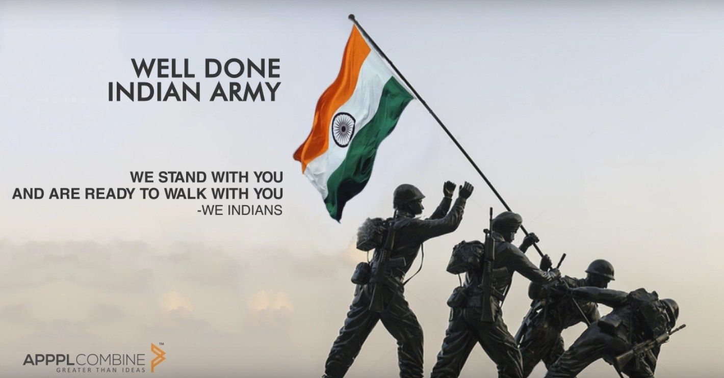 Well Done Indian Army Indian Army Quotes Army Quotes Indian Army
