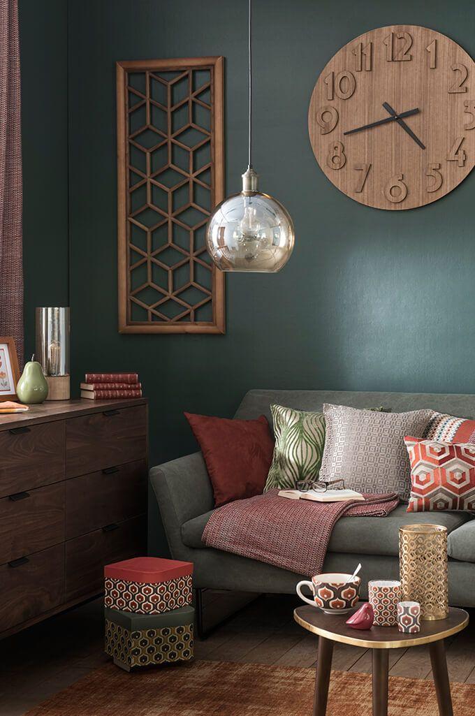 tendance d co seventies vintage chic maisons du monde maison du monde pinterest d co. Black Bedroom Furniture Sets. Home Design Ideas