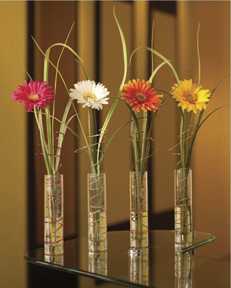 Gerbera Daisy Arrangements Vases: Centerpiece Idea In 2019