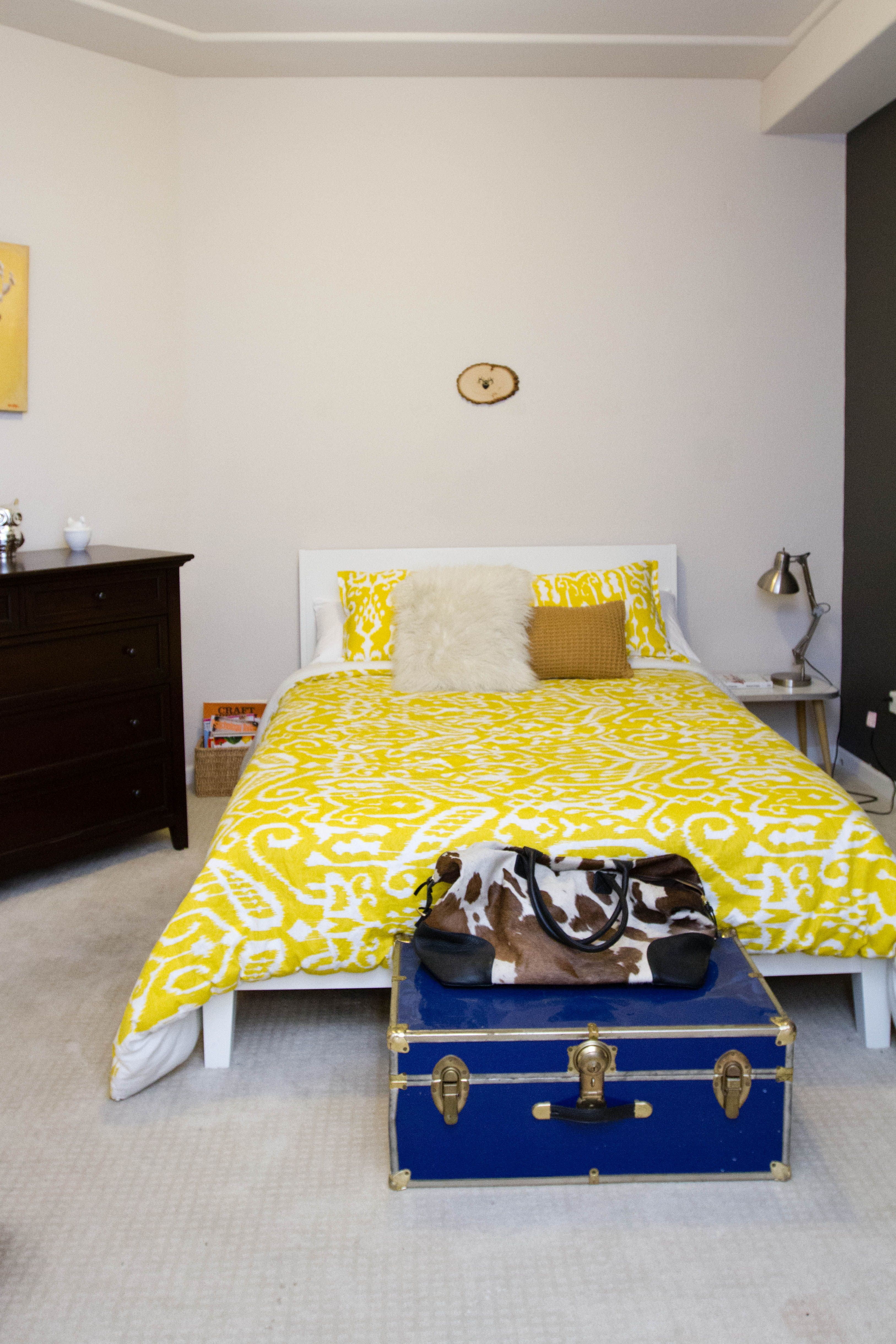 """An """"All Grown Up"""" Townhouse in Denver Bedroom styles"""