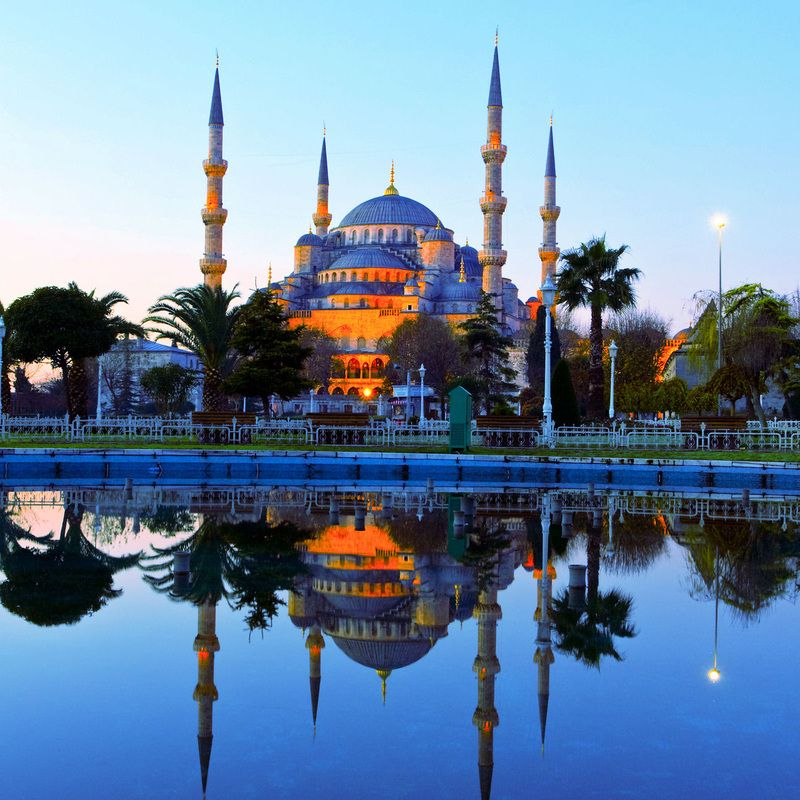 Blue Mosque, Sultan Ahmed Mosque, Istanbul, Turkey | #Istanbul ...