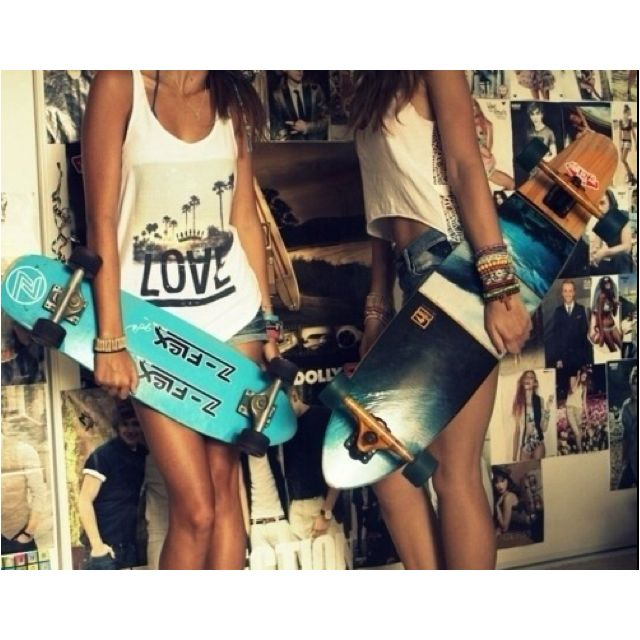 Learn to longboard this summer c: