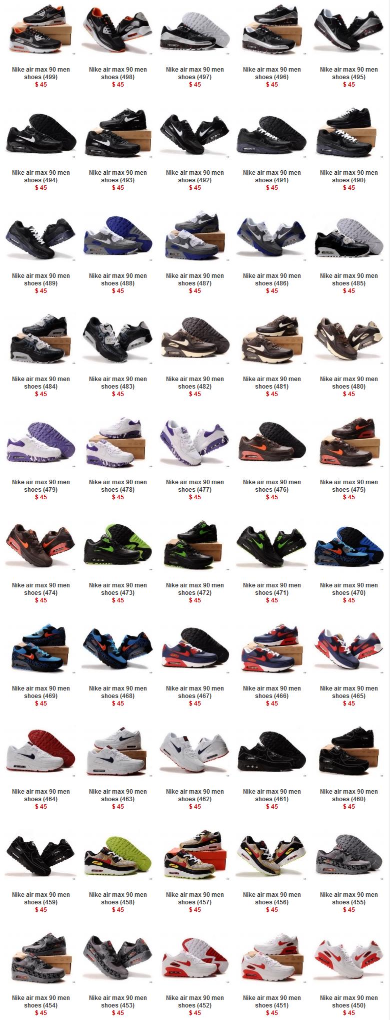 zapatos hombre nike 455