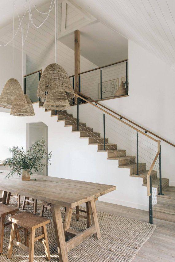 Malibu rattan pendant light 2020 interior design trends