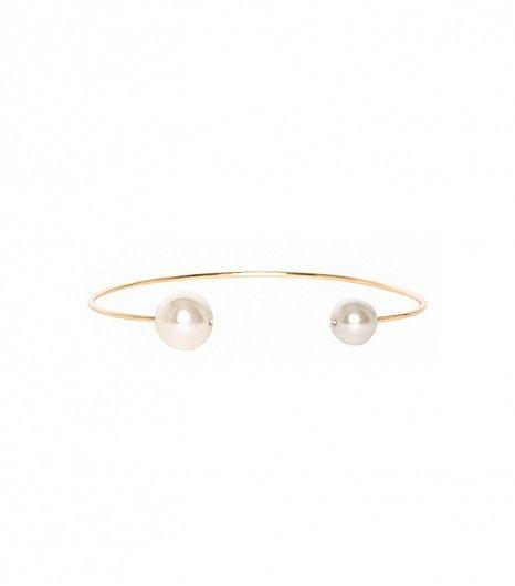 Pixie Market Pearl Choker Necklace