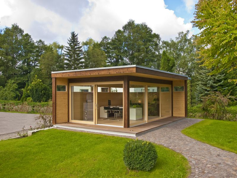 Das Home Office Von Blockhaus Hummel | Garten | Pinterest | Home ... Home Office Ideen