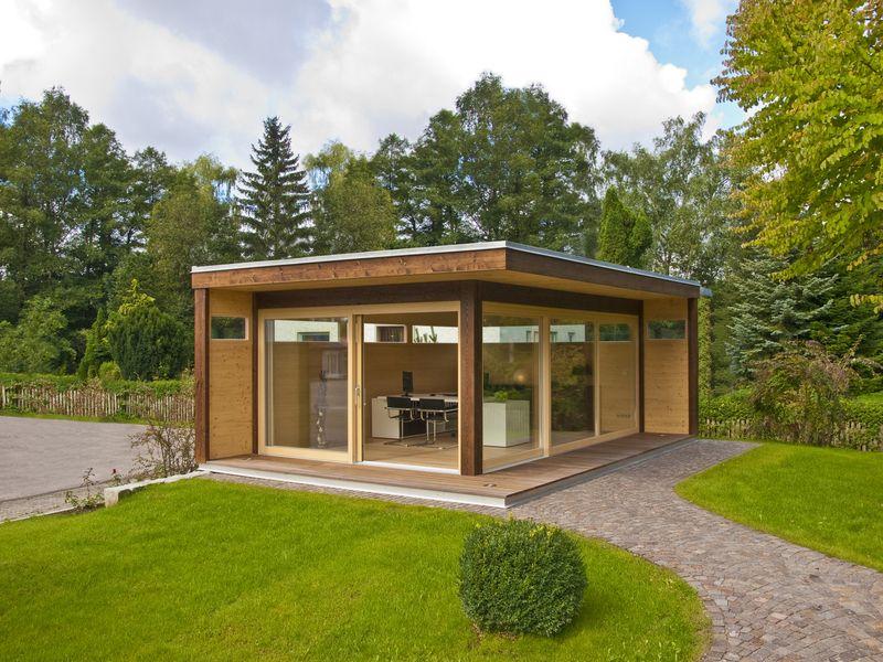 Das Home Office Von Blockhaus Hummel | Garten | Pinterest | Home ... Home Office Ideen