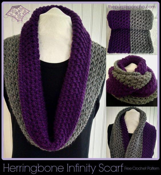 Infinity Scarf A Free Crochet Pattern