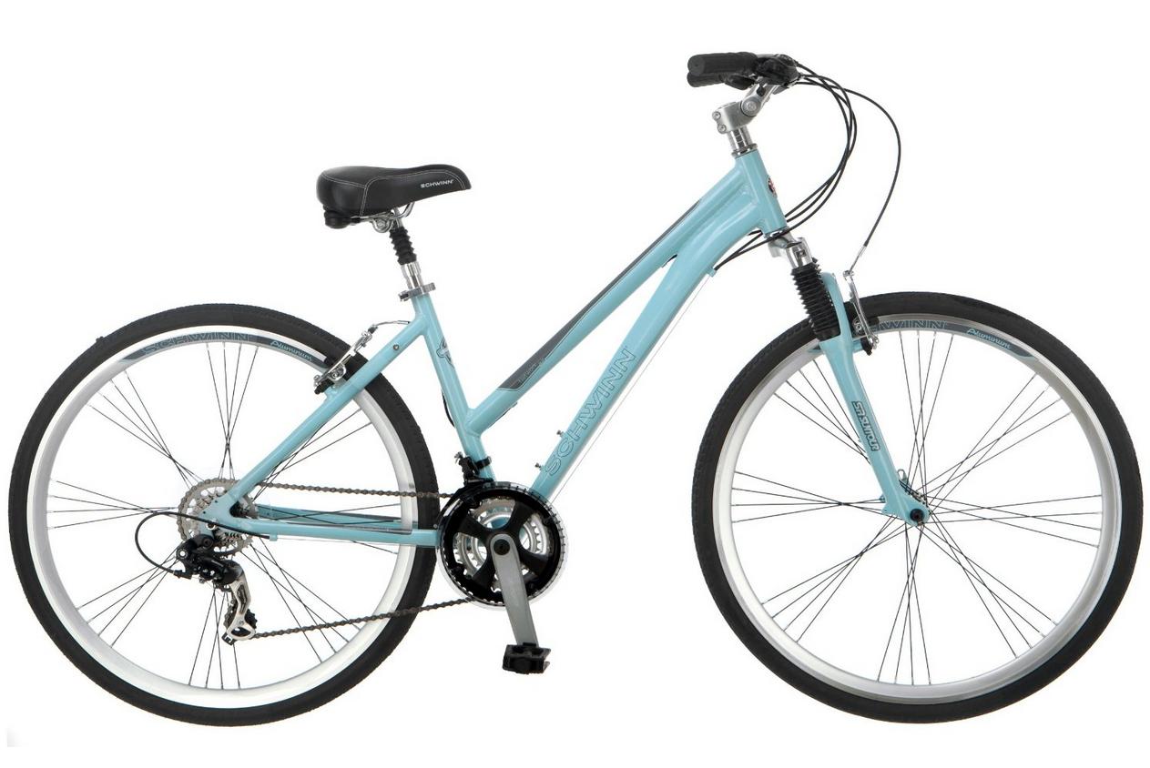 Best Bikes For Women 2014 2015 Schwinn 3 0 Hybrid Bike With