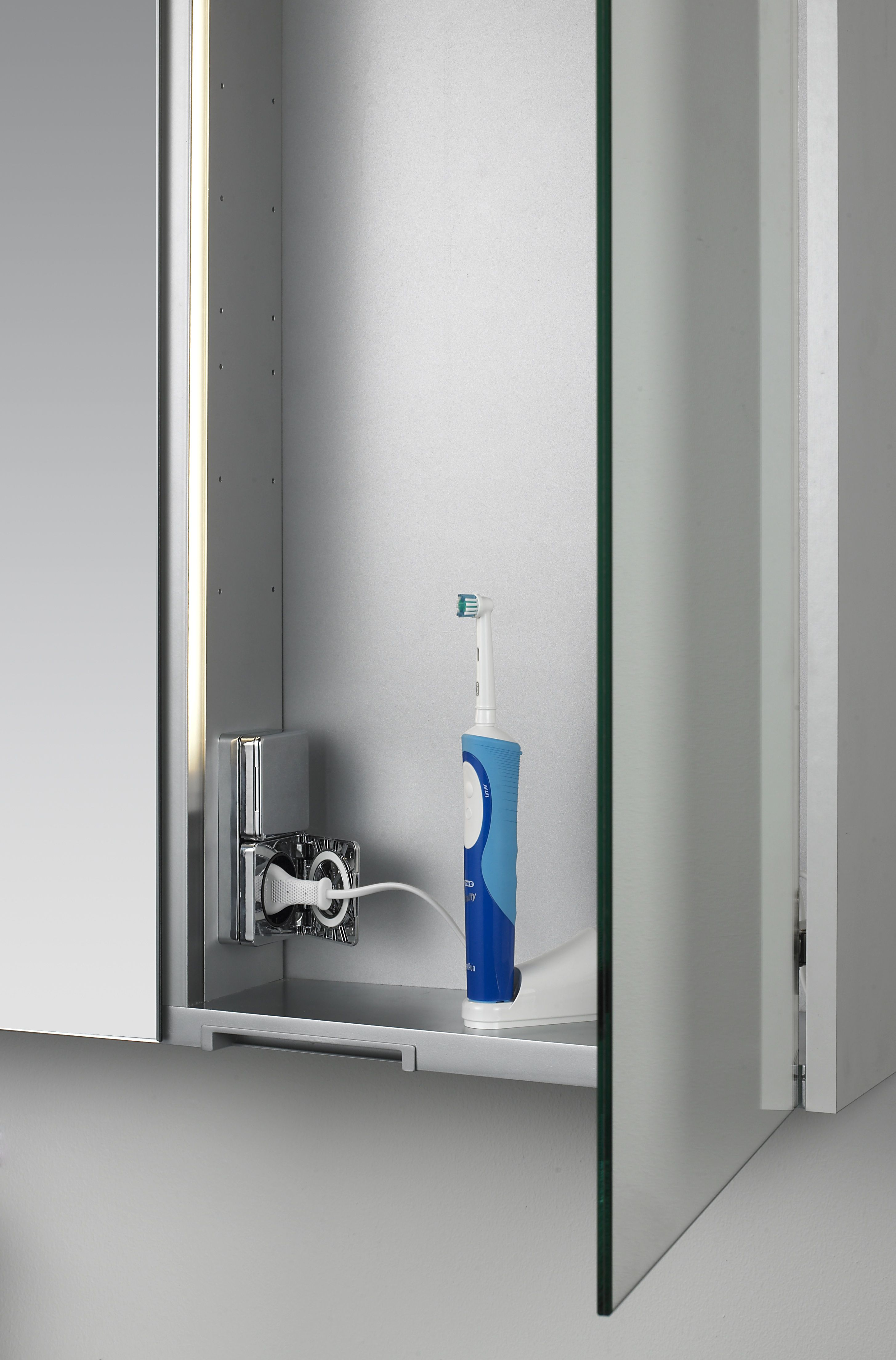 Bathroom Cabinet With Shaver Point Dansani Bathroom Mirror Cabinet Just The Thing To Store Your